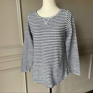 Lands' End Striped Thick Top